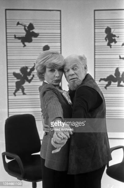 Giselas Schnatterbox, Comedyshow, Deutschland 1982, Mitwirkende: Karin Anselm, Ralf Wolter.