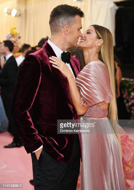 Gisele Bündchen and Tom Brady attend The 2019 Met Gala Celebrating Camp: Notes on Fashion at Metropolitan Museum of Art on May 06, 2019 in New York...