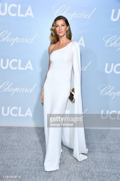 Gisele Bündchen arrives at the 2019 Hollywood For Science Gala at Private Residence on February 21, 2019 in Los Angeles, California.
