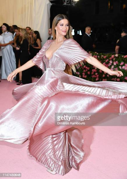 Gisele Bündchen attends The 2019 Met Gala Celebrating Camp Notes on Fashion at Metropolitan Museum of Art on May 06 2019 in New York City