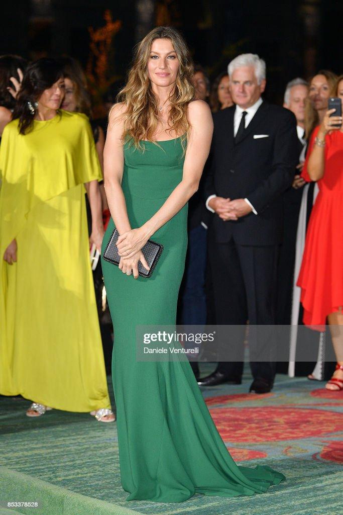 The Green Carpet Fashion Awards Italia 2017 : ニュース写真