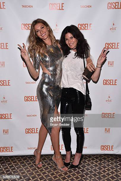 Gisele Bundchen and Katie Mossman attend the Gisele Bundchen Spring Fling book launch on April 30 2016 in New York City
