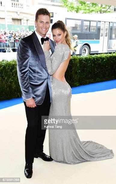 Gisele Bundchen and Tom Brady attend 'Rei Kawakubo/Comme des Garcons Art Of The InBetween' Costume Institute Gala at Metropolitan Museum of Art on...