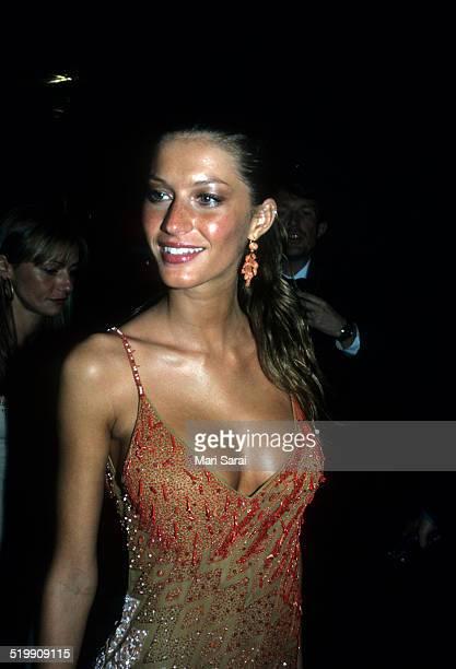 Gisele Bundchen at the Metropolitan Museum's Costume Institute gala exhibition, New York, New York, 1990s.