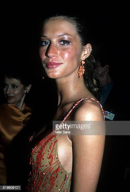 Gisele Bundchen at the Metropolitan Museum's Costume Institute gala exhibition New York New York 1990s