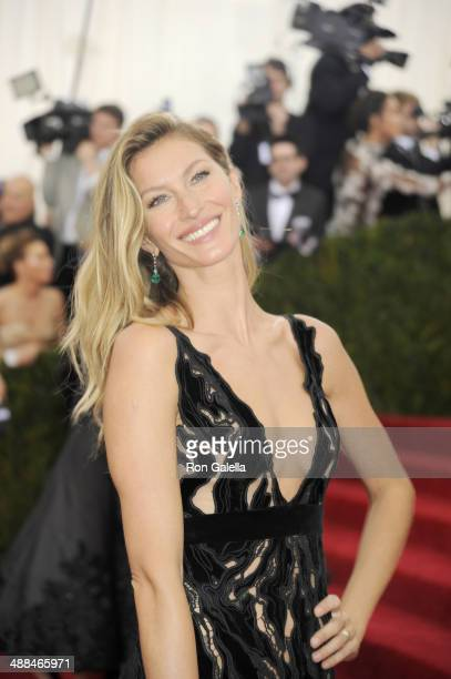 Gisele Bundchen attends 'Charles James Beyond Fashion' Costume Institute Gala at the Metropolitan Museum of Art on May 5 2014 in New York City