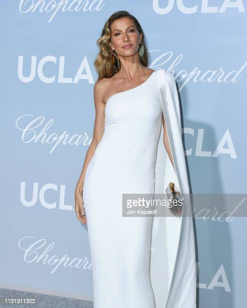 Gisele Bundchen attends the 2019 Hollywood For Science Gala at Private Residence on February 21 2019 in Los Angeles California
