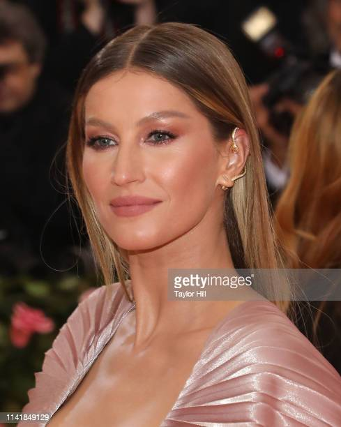"""Gisele Bundchen attends the 2019 Met Gala celebrating """"Camp: Notes on Fashion"""" at The Metropolitan Museum of Art on May 6, 2019 in New York City."""
