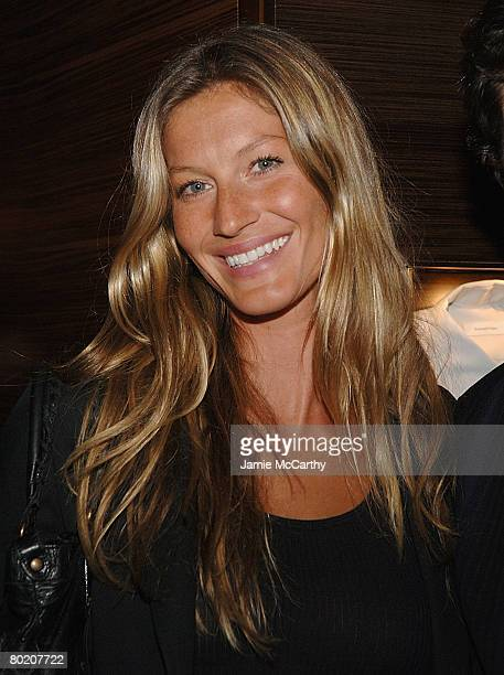 Gisele Bundchen attends the Ermenegildo Zegna Store Opening on 5th Ave and 52nd Street in New York on March 112008