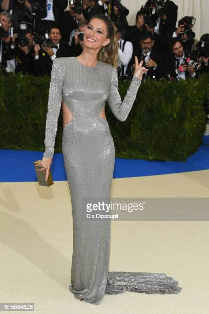 Gisele Bundchen attends the 'Rei Kawakubo/Comme des Garcons Art Of The InBetween' Costume Institute Gala at Metropolitan Museum of Art on May 1 2017...