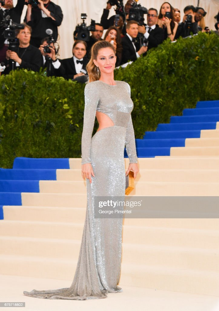 Gisele Bundchen attends the 'Rei Kawakubo/Comme des Garcons: Art Of The In-Between' Costume Institute Gala at Metropolitan Museum of Art on May 1, 2017 in New York City.