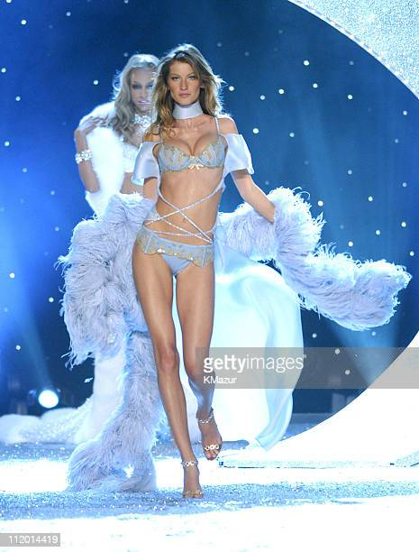 Gisele Bundchen during 9th Annual Victoria's Secret Fashion Show Runway at The New York State Armory in New York City New York United States