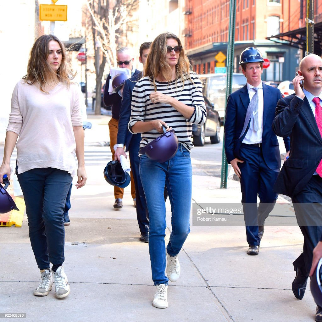 Celebrity Sightings in New York City - February 21, 2018 : Photo d'actualité