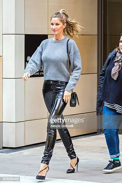 Gisele Bundchen is seen on April 27 2016 in New York City