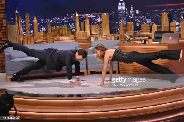 Gisele Bundchen Visits 'The Tonight Show Starring Jimmy Fallon' at Rockefeller Center on September 4 2014 in New York City
