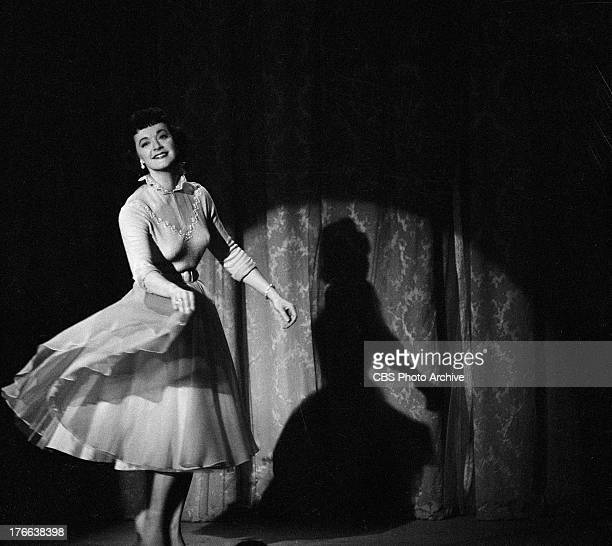 Gisele MacKenzie performs on THE JACK BENNY SHOW Image dated April 8 1956