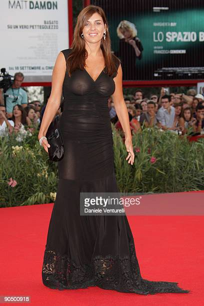 Gisella Marengo attends The Man Who Stares At Goats Premiere at the Sala Grande during the 66th Venice Film Festival on September 8 2009 in Venice...