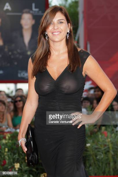 Gisella Marengo attends The Men Who Stare At Goats Premiere at the Sala Grande during the 66th Venice Film Festival on September 8 2009 in Venice...
