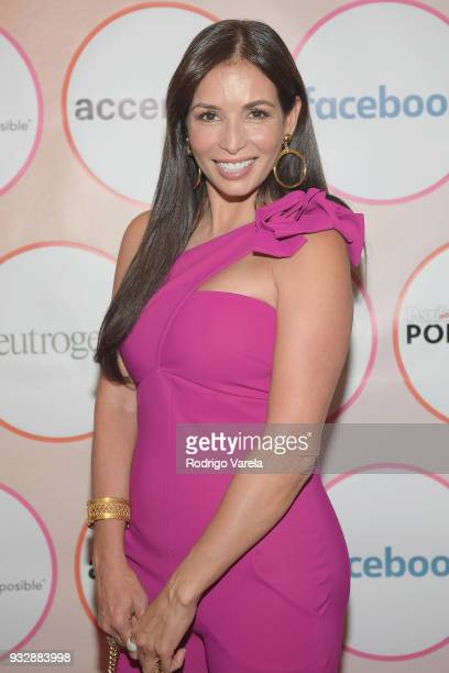 Giselle Blondet arrives at the People en Espanol's 25 Most Powerful Women Luncheon 2018 on March 16 2018 in Miami Florida