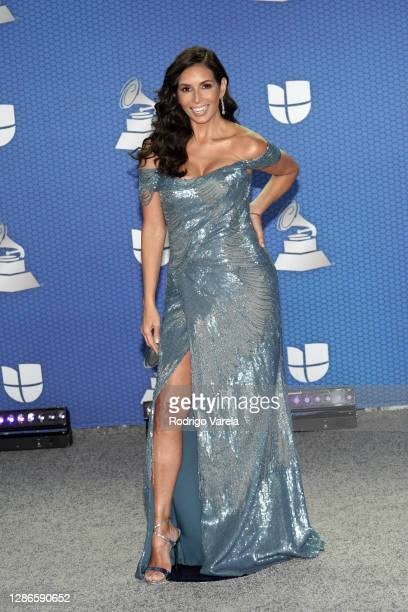 Giselle Blondet attends The 21st Annual Latin GRAMMY Awards at American Airlines Arena on November 19, 2020 in Miami, Florida.