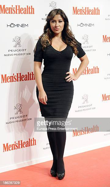 Giselle Calderon attends Men's Health Awards 2013 at Teatros del Canal on October 29 2013 in Madrid Spain