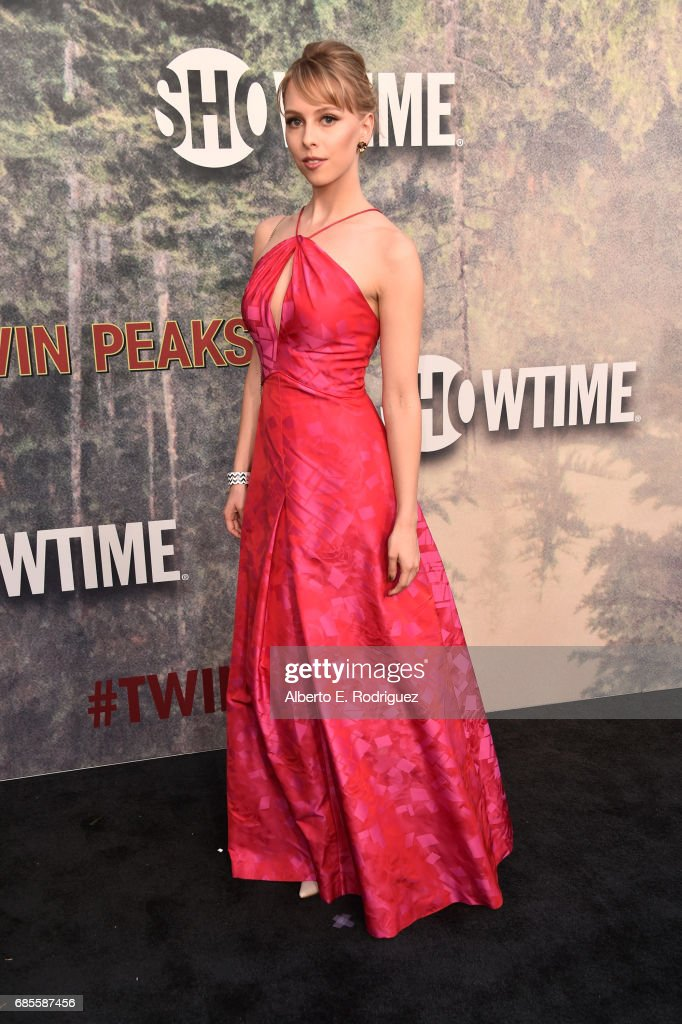 Giselle DaMier attends the premiere of Showtime's 'Twin Peaks' at The Theatre at Ace Hotel on May 19, 2017 in Los Angeles, California.