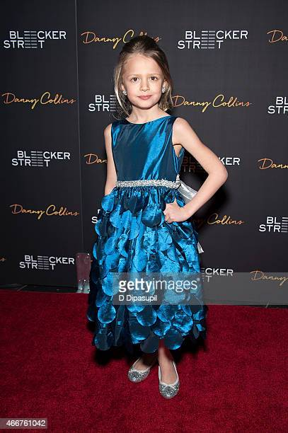 Giselle Eisenberg attends the Danny Collins New York Premiere at AMC Lincoln Square Theater on March 18 2015 in New York City