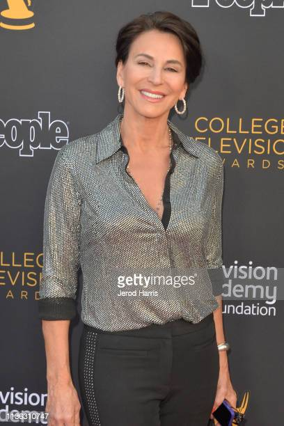 Giselle Fernandez attends The Television Academy Foundation's 39th College Television Awards at Wolf Theatre on March 16 2019 in North Hollywood...