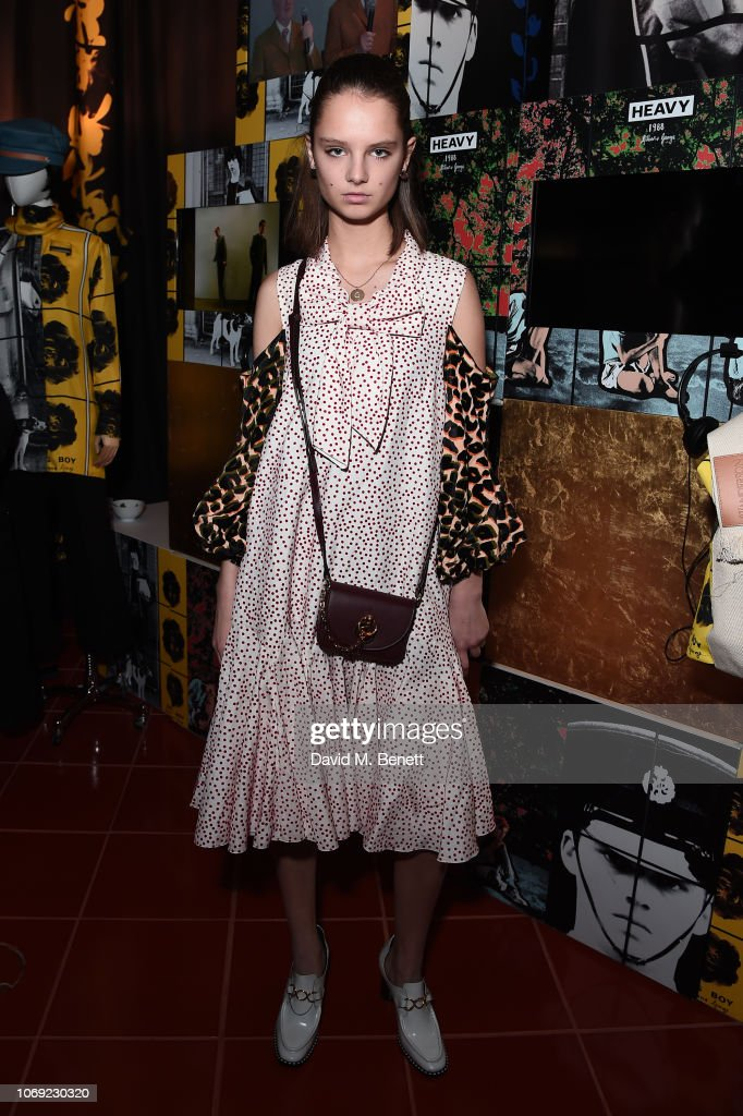 Giselle Norman Attends The Jw Anderson X Matchesfashion Com Cocktail News Photo Getty Images