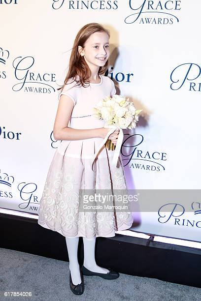 Giselle Paulson attends the 2016 Princess Grace Awards Gala at Cipriani 25 Broadway on October 24 2016 in New York City