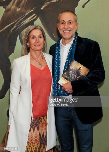 Giselle Roux and Michel Roux Jr attend the press night performance of Heartbeat Of Home at The Piccadilly Theatre on September 11 2019 in London...