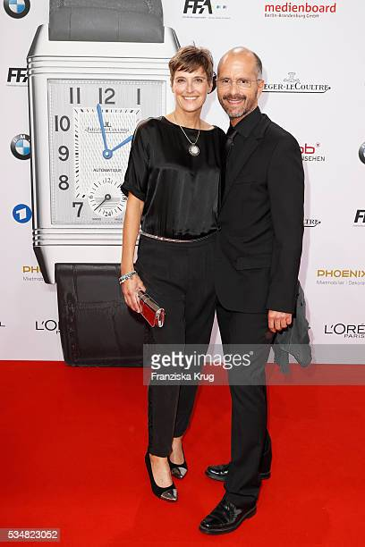 Gisi Herbst and Christoph Maria Herbst during the Lola German Film Award 2016 on May 27, 2016 in Berlin, Germany.