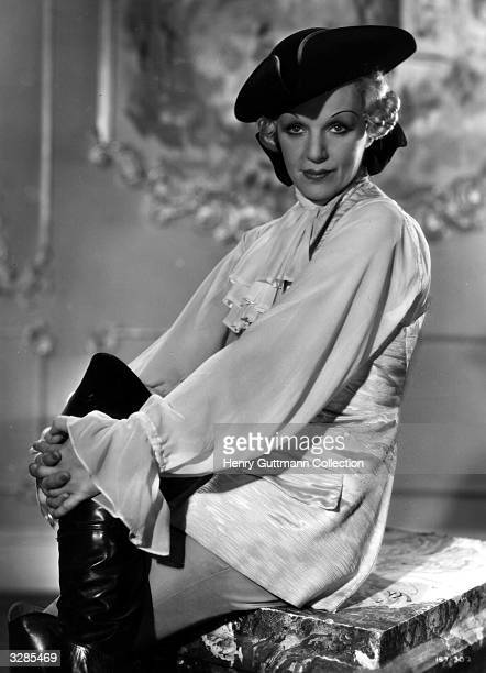 Gitta Alpar as Madame Dubarry as she appears in the film 'I Give My Heart' adapted from the operetta success 'The Dubarry' and directed by Marcel...