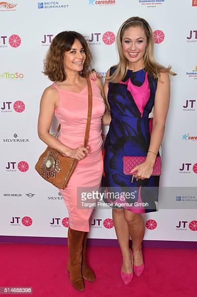 Gitta Saxx and Ruth Moschner attend the JT Touristik Celebrates ITB Party at Soho House on March 10 2016 in Berlin Germany