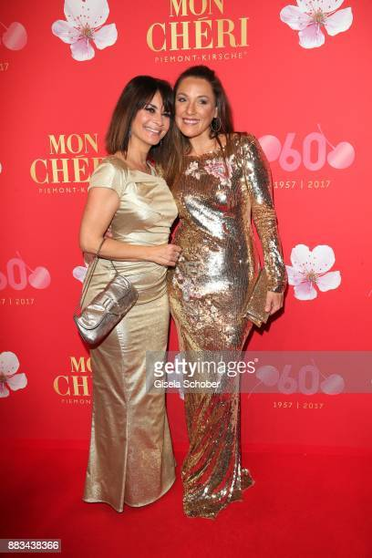 Gitta Saxx and Simone Ballack during the Mon Cheri Barbara Tag at Postpalast on November 30 2017 in Munich Germany