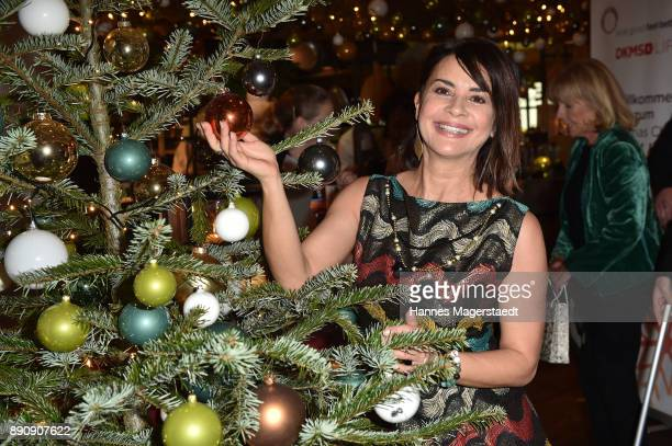 Gitta Saxx attend the DKMS LIFECharity Ladies Christmas Lunch at Kaefer Schaenke on December 12 2017 in Munich Germany