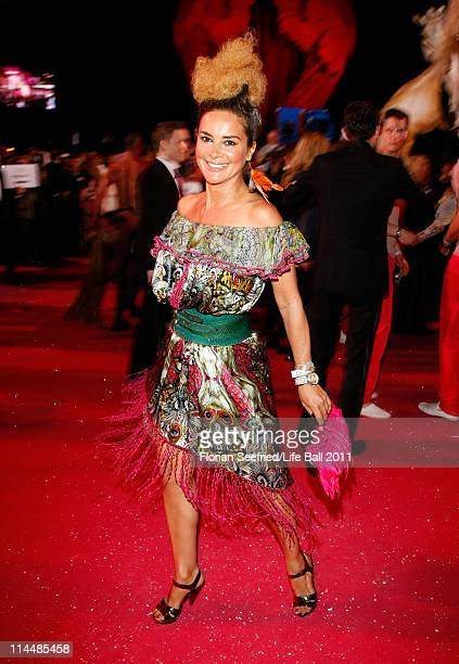 Gitta Saxx attends the 19th Life Ball at the Town Hall on May 21 2011 in Vienna Austria