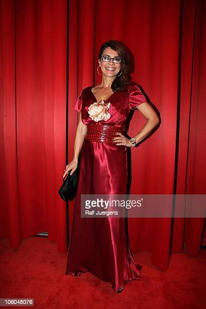 Gitta Saxx attends the 'Busche Gala' at Kameha Grand Hotel on October 25, 2010 in Bonn, Germany.