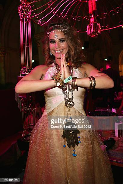 Gitta Saxx attends the 'Life Ball 2013 After Show Party' at City Hall on May 25 2013 in Vienna Austria