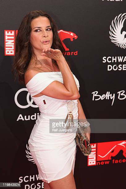 Gitta Saxx attends the New Faces Award on July 25, 2011 in Duesseldorf, Germany.