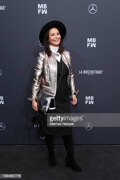 Gitta Saxx attends the Sportalm Kitzbuehel show during the Berlin Fashion Week Autumn/Winter 2019 at ewerk on January 16, 2019 in Berlin, Germany.