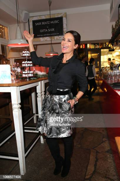 Gitta Saxx during the Christmas Charity Dinner hosted by StefanMross AnnaCarinaWoitschack and Connections PR for the benefit of the foundation...