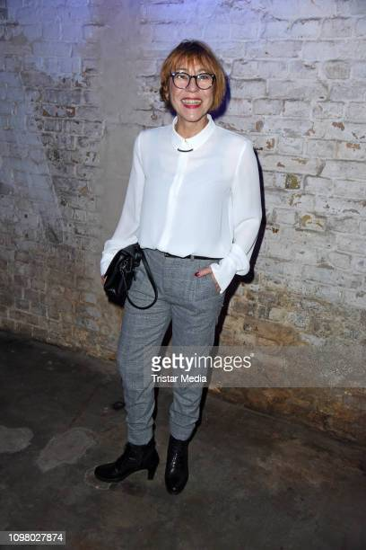 Gitta Schweighoefer attends the Pantaflix Pantaparty during 69th Berlinale International Film Festival at Alte Muenze on February 11, 2019 in Berlin,...
