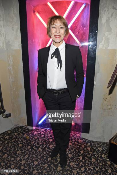 Gitta Schweighoefer during the Pantaflix Panta Party on February 19 2018 in Berlin Germany