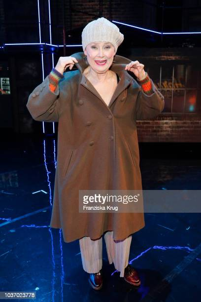 Gitte Haenning during the premiere of 'Flashdance Das Musical' at Mehr Theater on September 20 2018 in Hamburg Germany