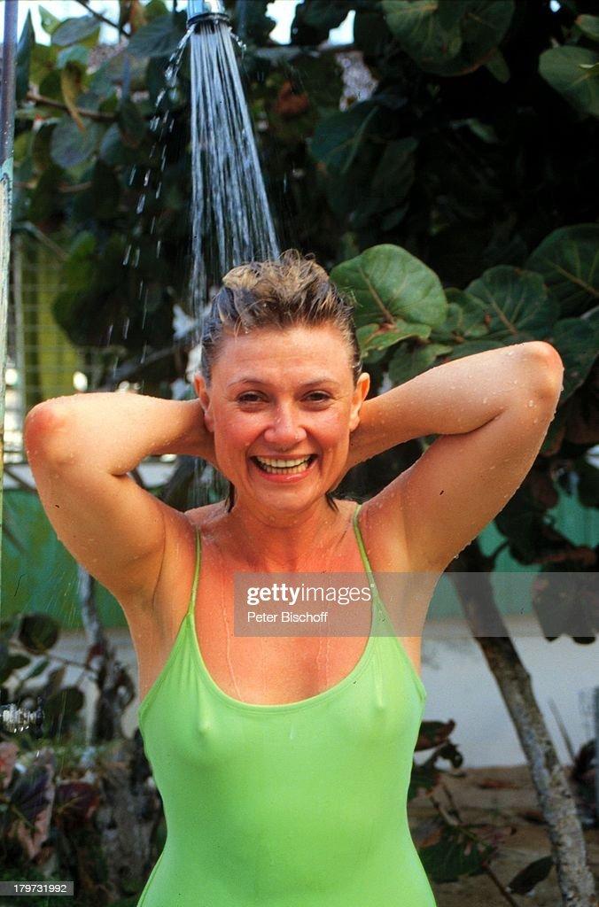 Gitte Haenning, privat, Urlaub, Bahamas/Karibik/Amerika