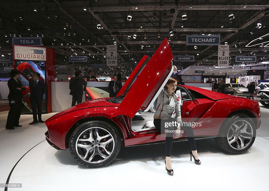 Official Opening  Of The Geneva Motor Show : News Photo
