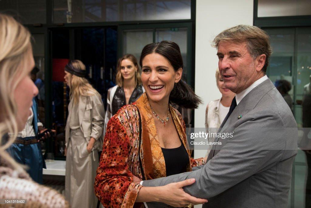 Brunello Cucinelli Presentation - Milan Fashion Week Spring/Summer 2019 : News Photo
