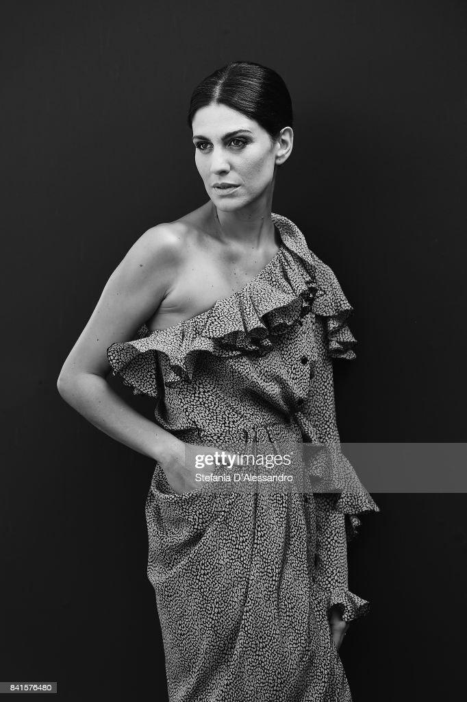 Giulia Bevilacqua attends Il Contagio photocall during