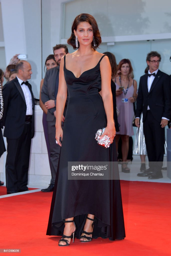 Giulia Bevilacqua walks the red carpet ahead of the 'The Shape Of Water' screening during the 74th Venice Film Festival at Sala Grande on August 31, 2017 in Venice, Italy.